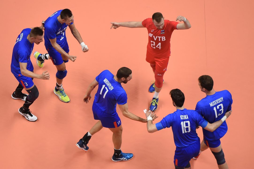 Russia Shocks France with Sweep for VNL Gold