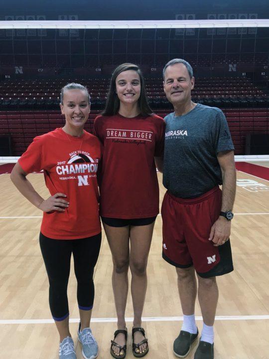 Rylee Gray, Class of 2021 6'4″ MB, Commits to Nebraska
