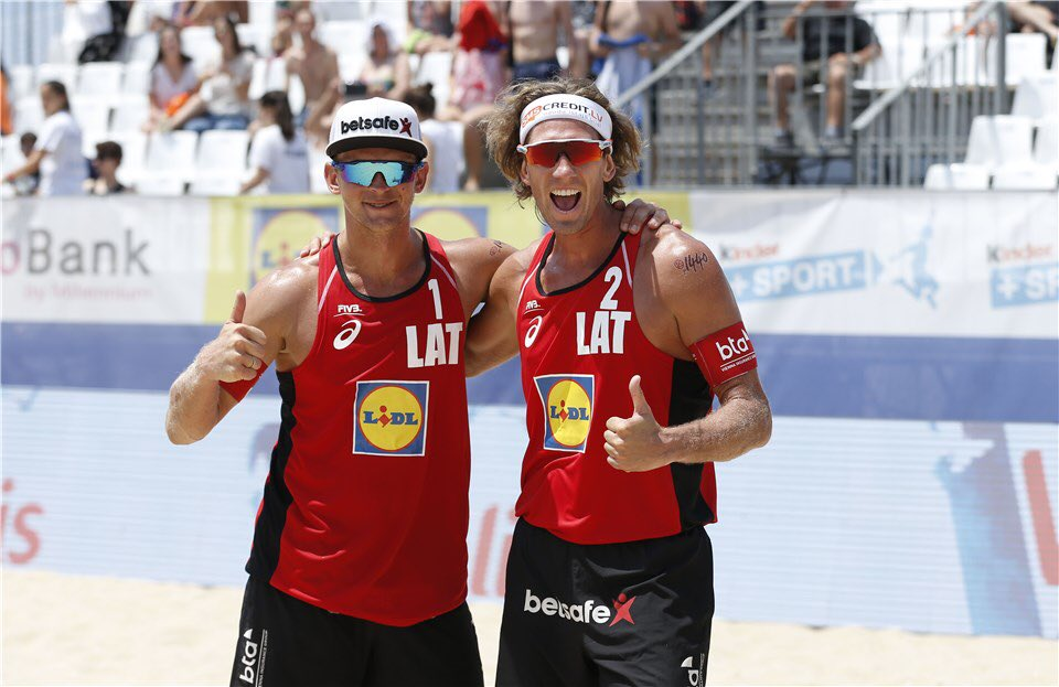 Latvians Samoilovs/Smedins Take Espinho Gold with Tiebreak Win