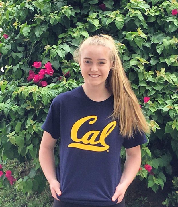 Class of 2021 DS/L Sarah Schrag Commits to Cal
