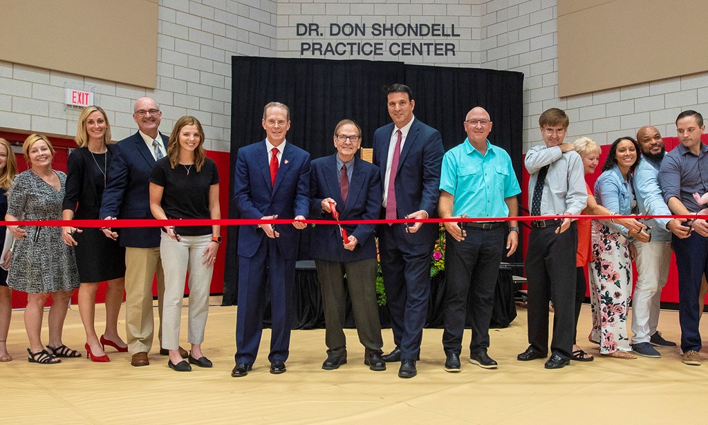 Ball State Unveils Dr. Don Shondell Practice Center