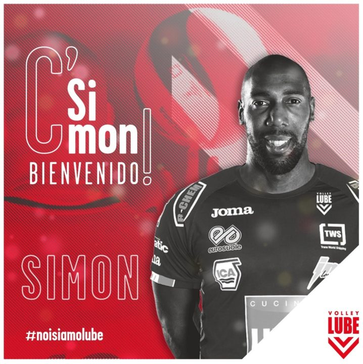 It's Official! Simon is at Lube Civitanova!
