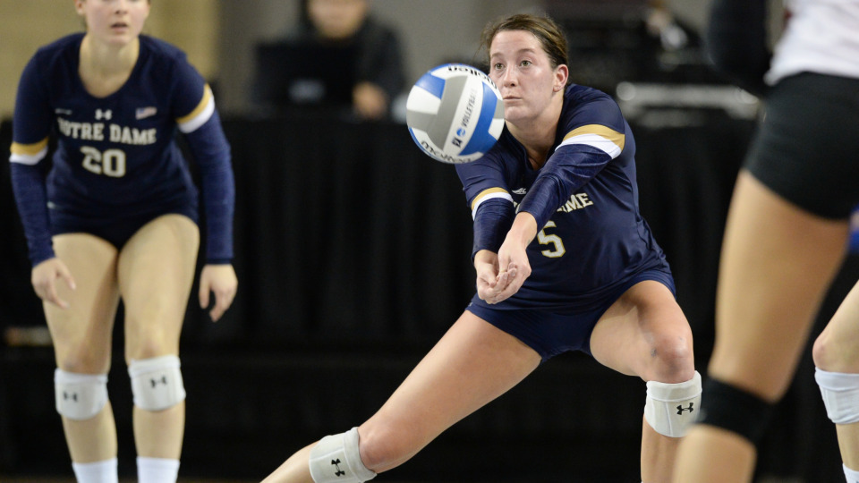 Notre Dame Outside Hitter Sydney Kuhn Signs First Pro Contract