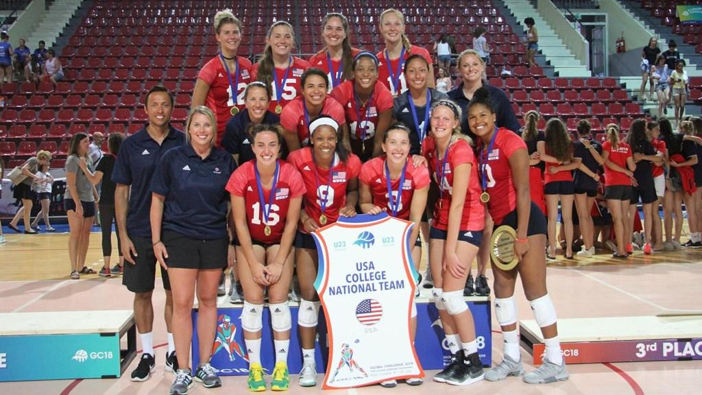 USAV Collegiate National Team Wins European Global Challenge