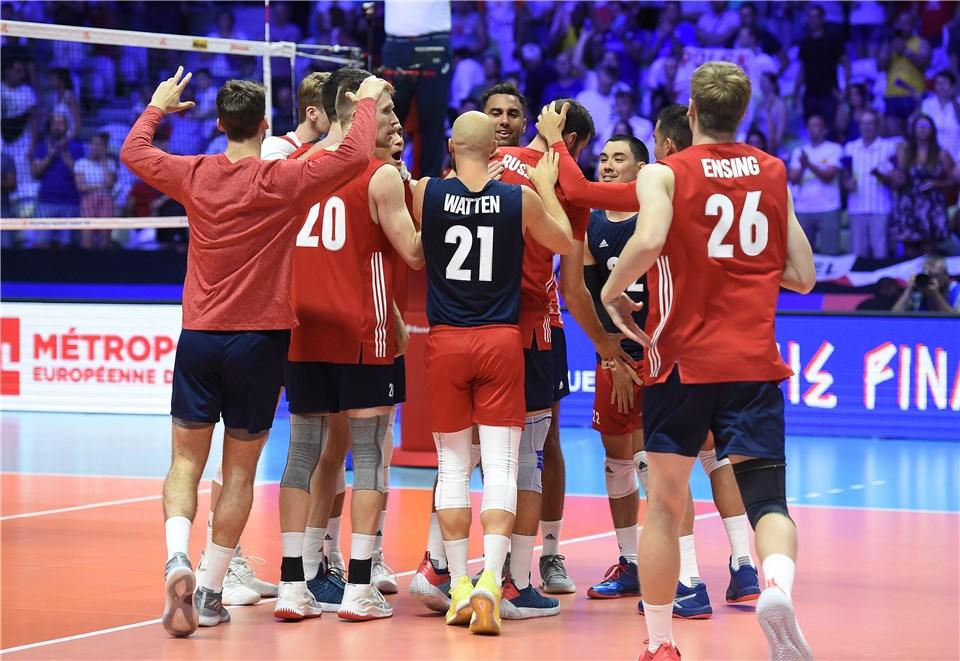United States Qualifies for #VNL Semifinals, Sander Leaves Injured