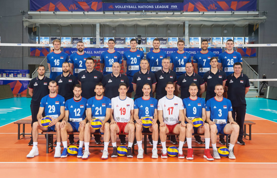 Serbia Announces Preliminary Men's Roster For The WCH