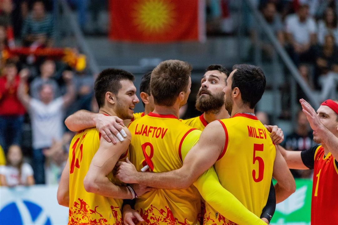 WATCH: Macedonia's Setter Attempts To Trick Refs