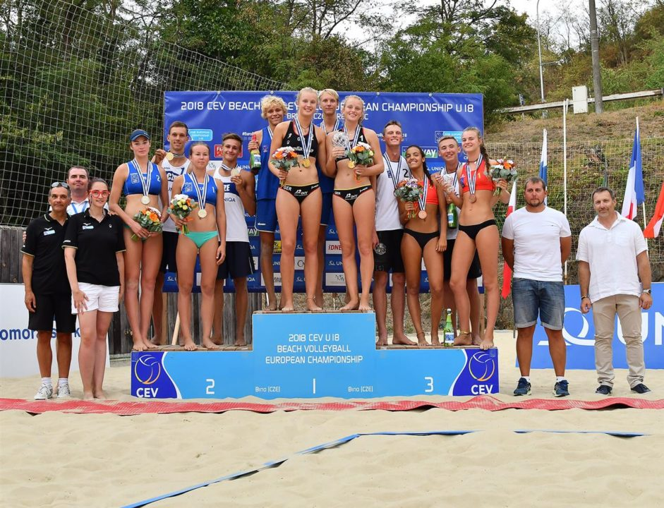 CEV Crowns U18 Euro Beach Volley Champs – Sweden And Germany Take Gold