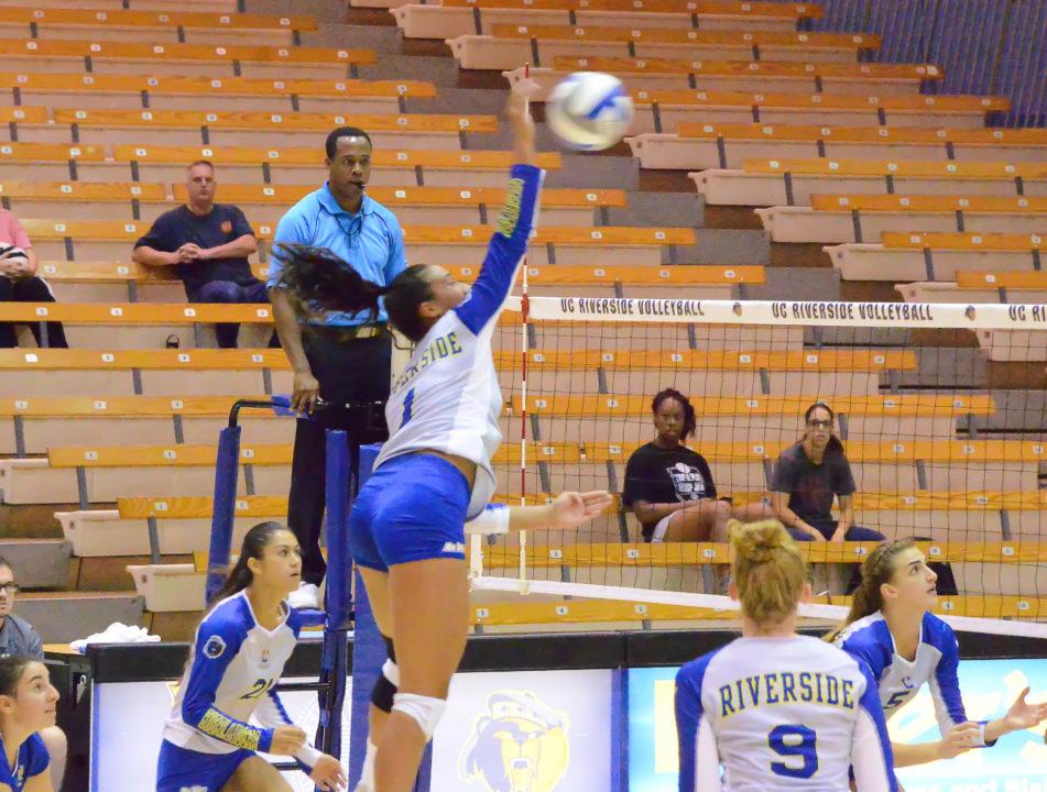 VolleyMob Week 1 Player of the Week: Kaiulana Ahuna, UC Riverside