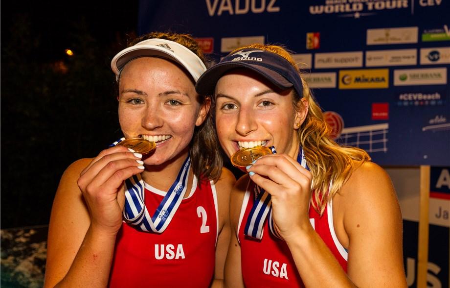 Americans Wheeler/Dykstra, Russians Myskiv/Samoday Take Vaduz Gold