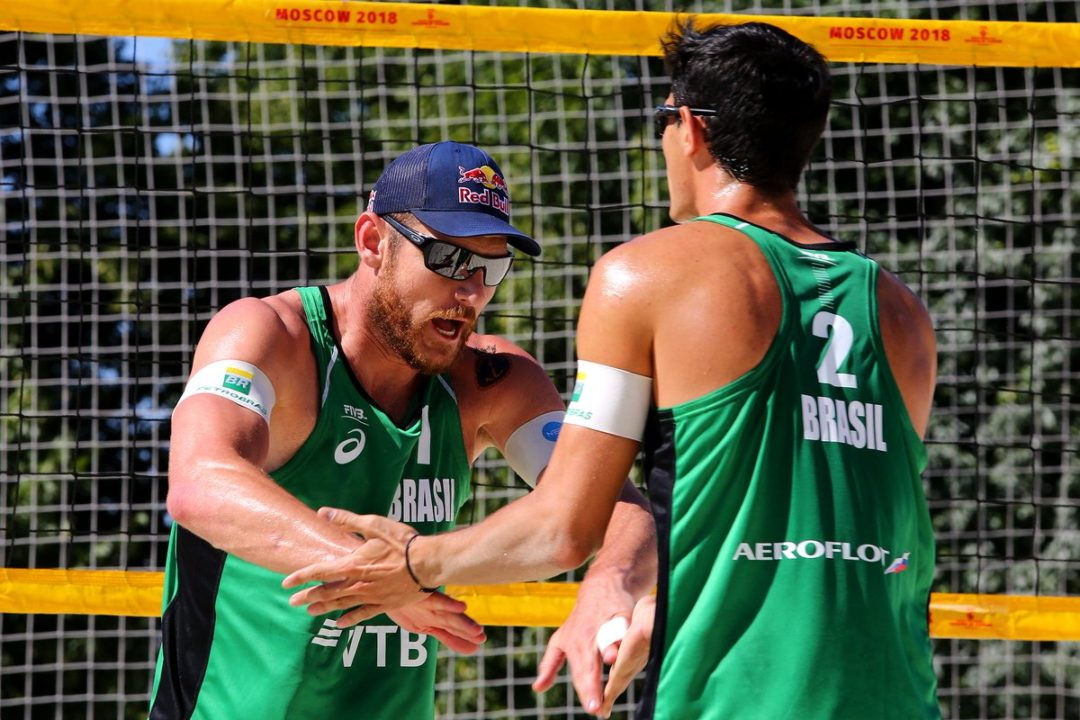 Alison/Andre Look for First FIVB Gold as Pairing in Moscow