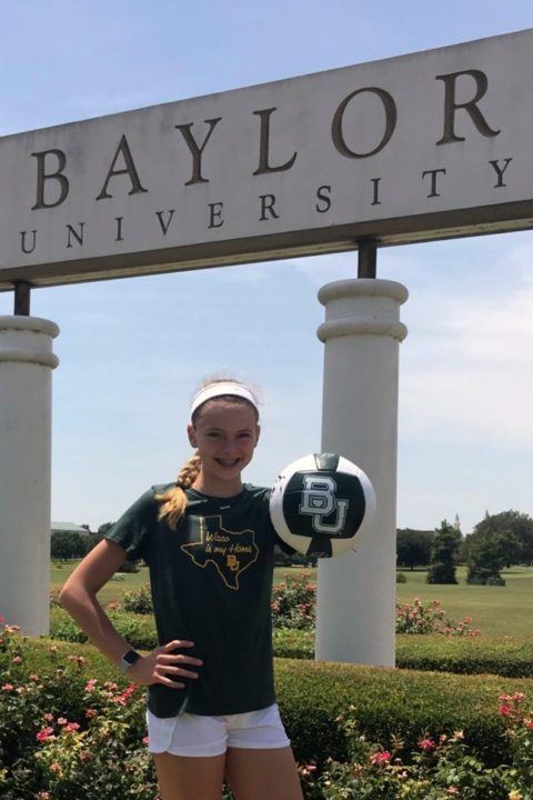 Class of 2022 RS Allie Sczech Commits to Baylor