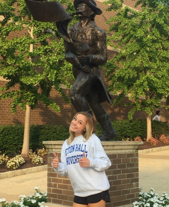 Class of 2021 DS/L Anna Holland Commits to Seton Hall