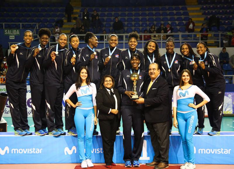 Dominican Women Win 4th-Straight U23 Pan American Cup