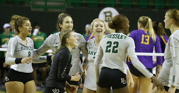 Pressley Posts Two 20-Kill Efforts as Baylor Wins Tourney Title
