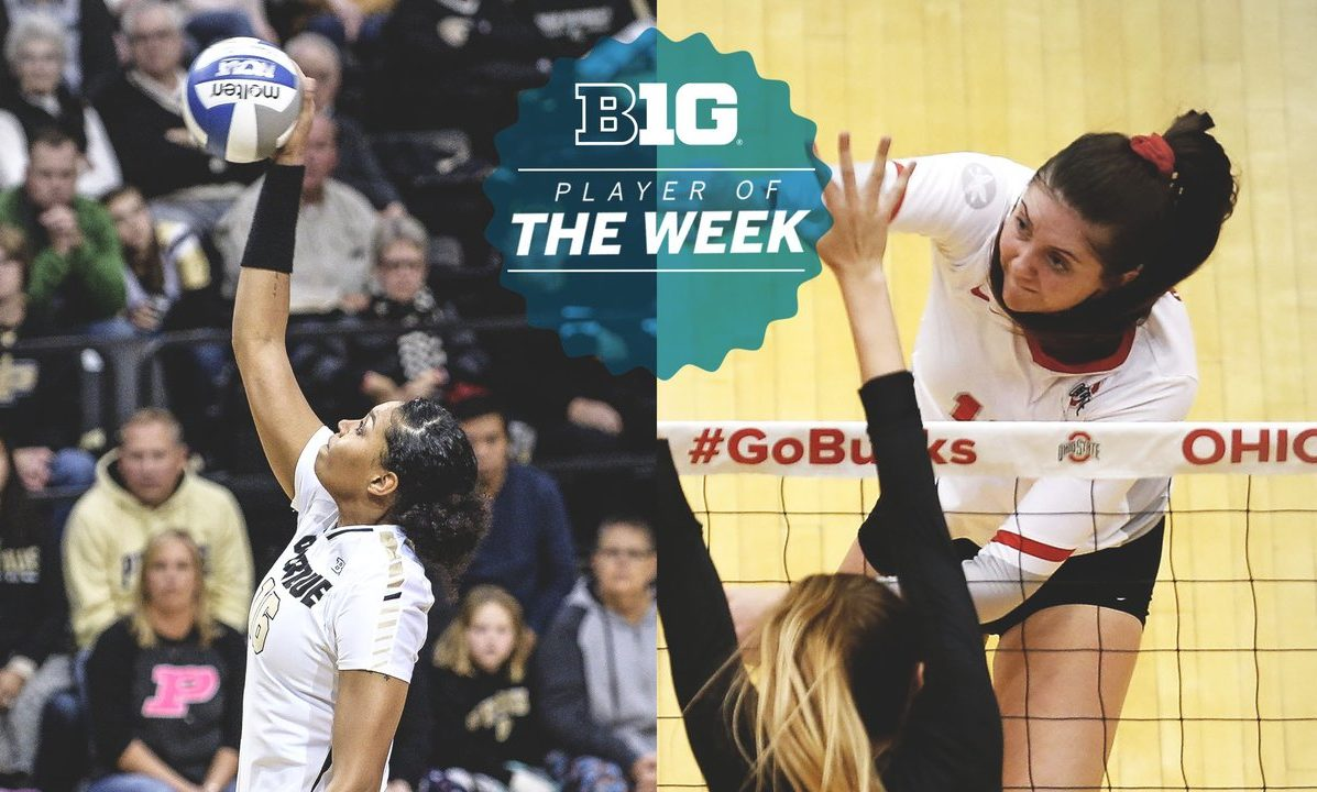 Big Ten Picks OSU's Witte, Purdue's Atkinson as Co-Players of the Week