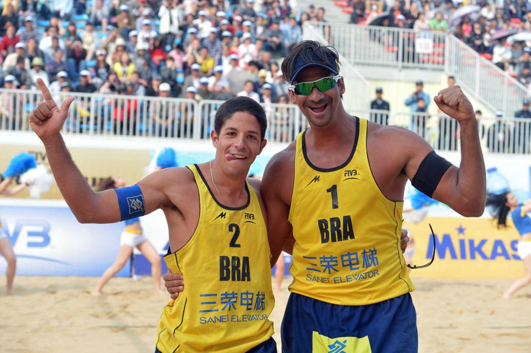 Ricardo And Alvaro Rekindle Successful Beach Partnership