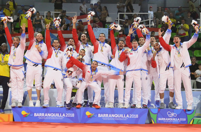 Puerto Rico Wins Gold At The Central American and Caribbean Games