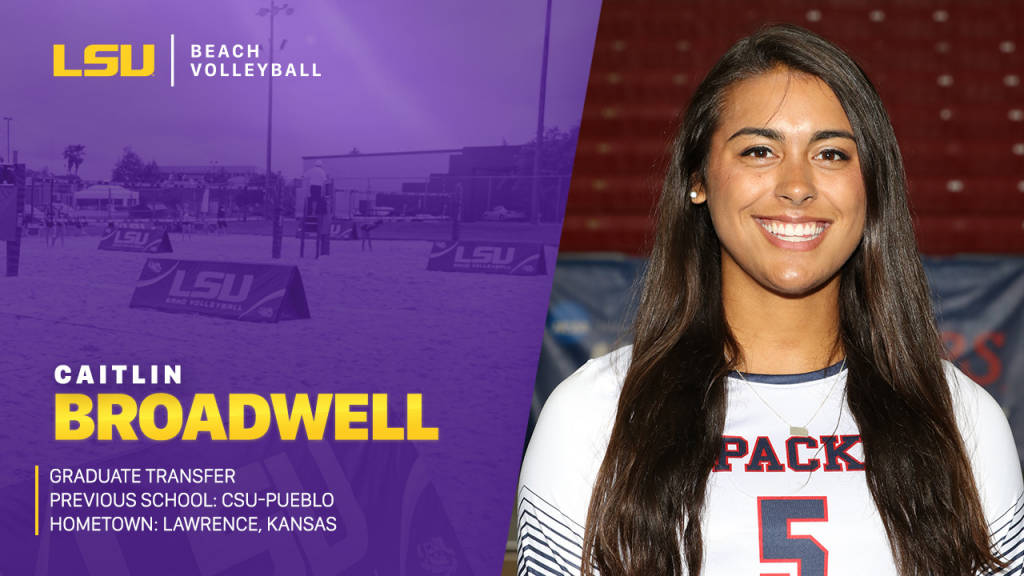 LSU Beach Adds Grad Transfer From CSU Pueblo In Caitlin Broadwell