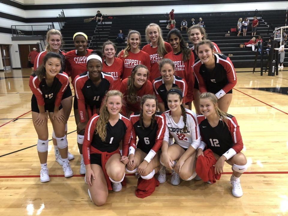 Coppell High School Volleyball Coach Julie Price Gets 500th Career Win