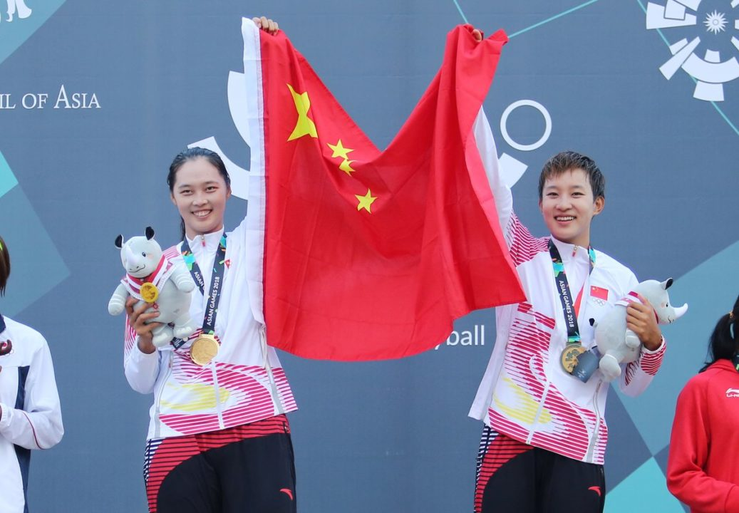 Fan Wang/Xinyi Xia Earn China's 5th-Straight Asian Games Beach Gold