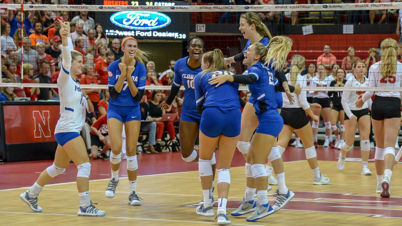 Women's Volleyball Opening Day Notebook: Cal Poly, Creighton, Nebraska, Pitt, UF & UK