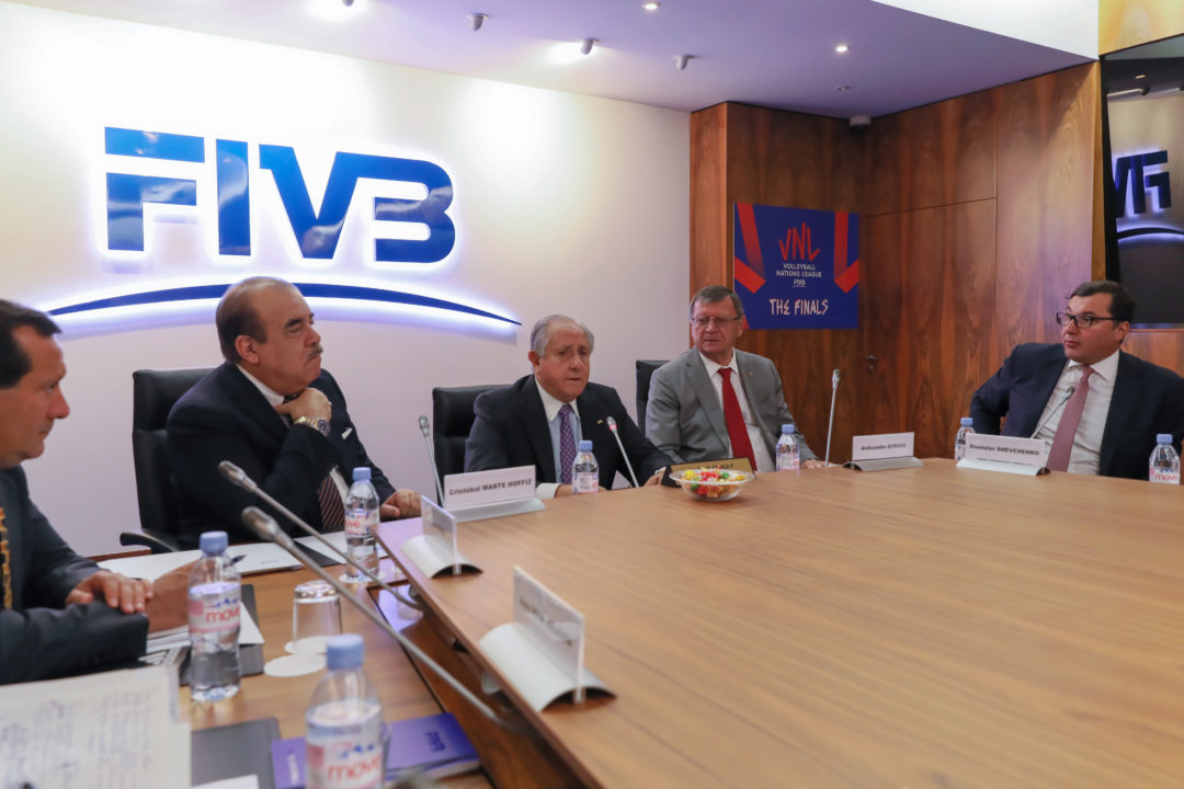 FIVB Council Praises VNL Success, Doesn't Mention Schedule Issues