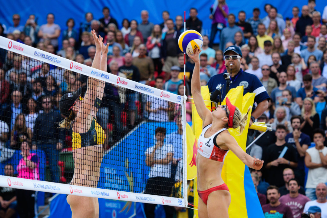 Bansley/Wilkerson Lead, Parity Abounds in Women's #WTFinals Pool Play