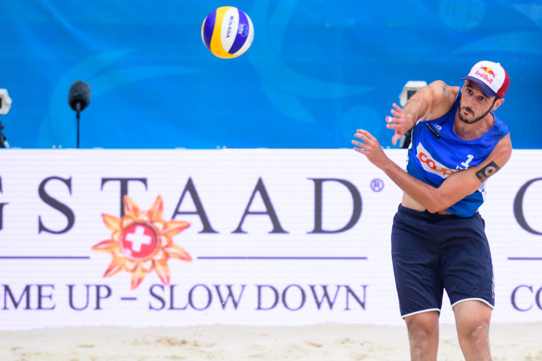 WATCH: Nicolai Lupo Break World Record for Beach Volleyball Serve