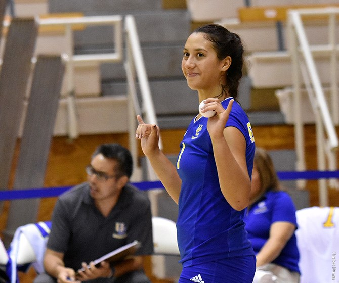 Kaiulani Ahuna Breaks UC Riverside Records for Kills in a Game