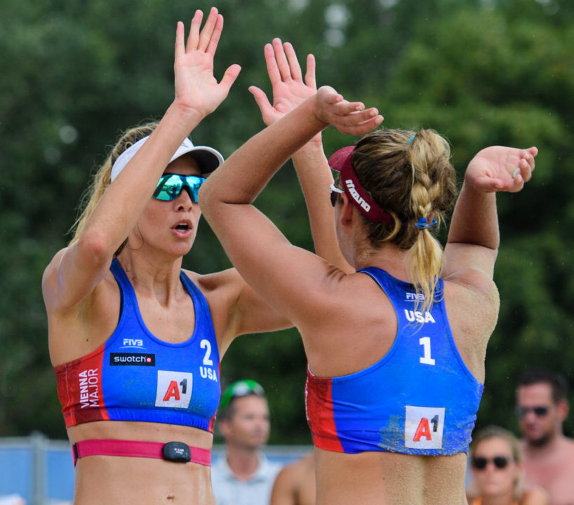 Five American Women's Pairs Among Vienna Majors Final 16