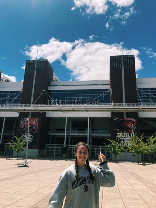 Class of 2020 OH/MB/DS Alexa 'Lexi' Gonzalez Commits to Oregon State