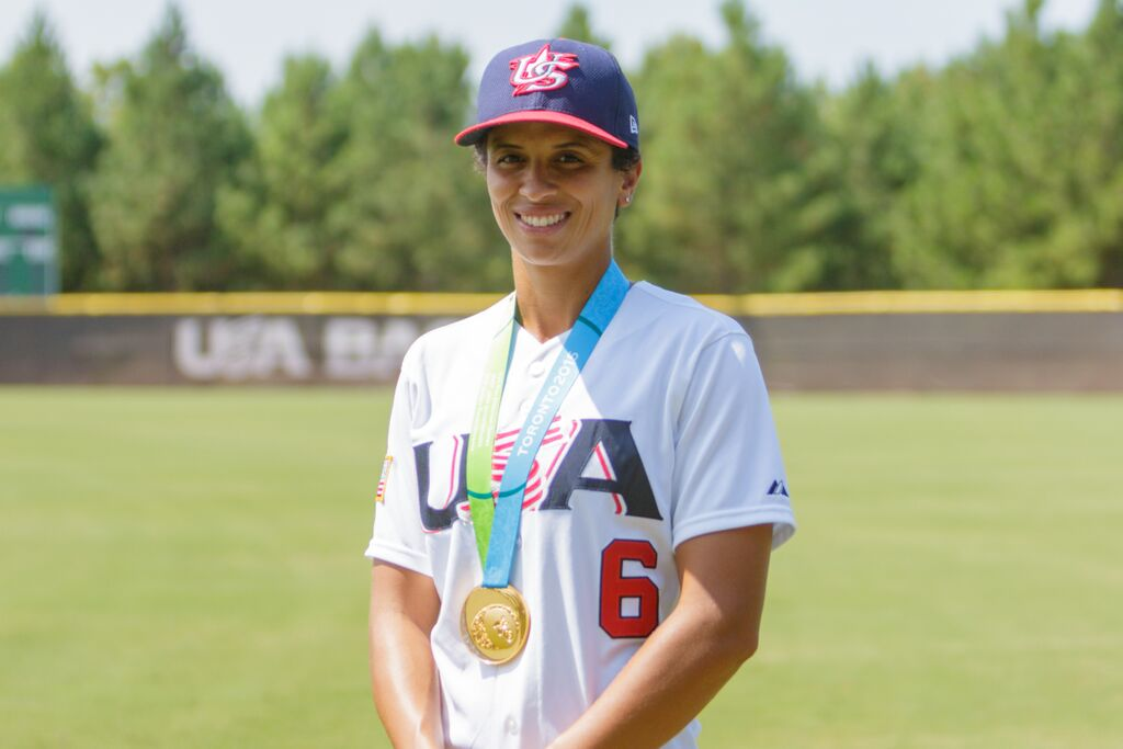How playing volleyball gave a former UNC standout the freedom to pursue her baseball dreams