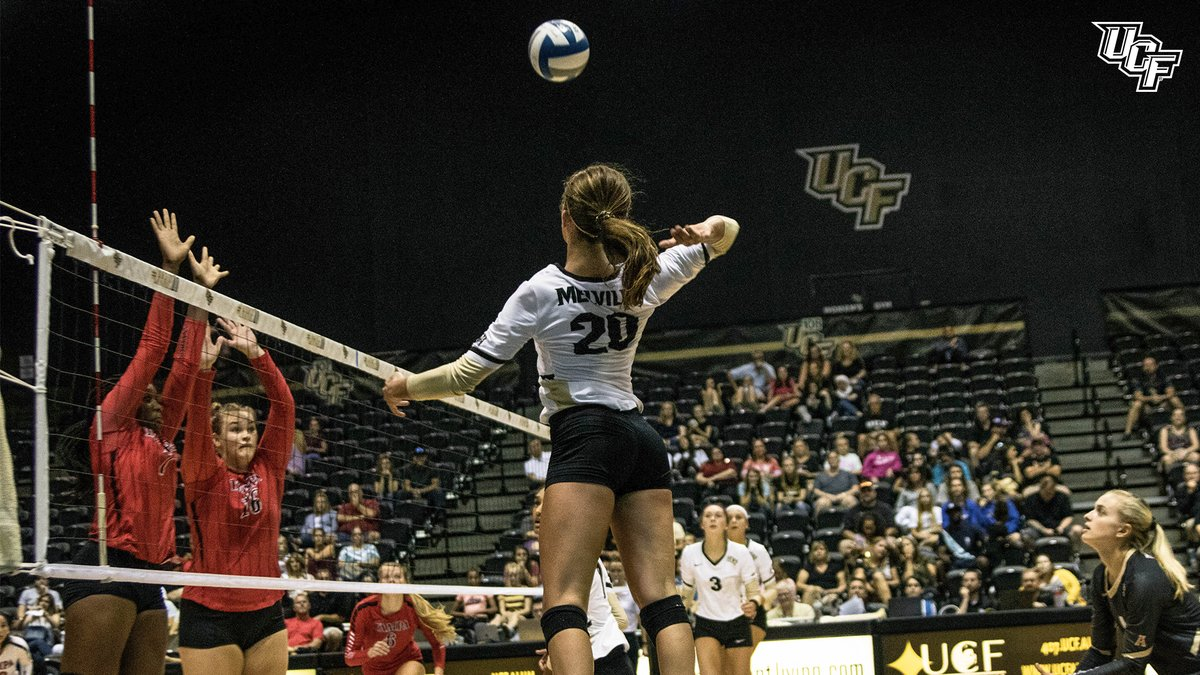 UCF's Melville, Wichita State's Civita Earn AAC Weekly Nods