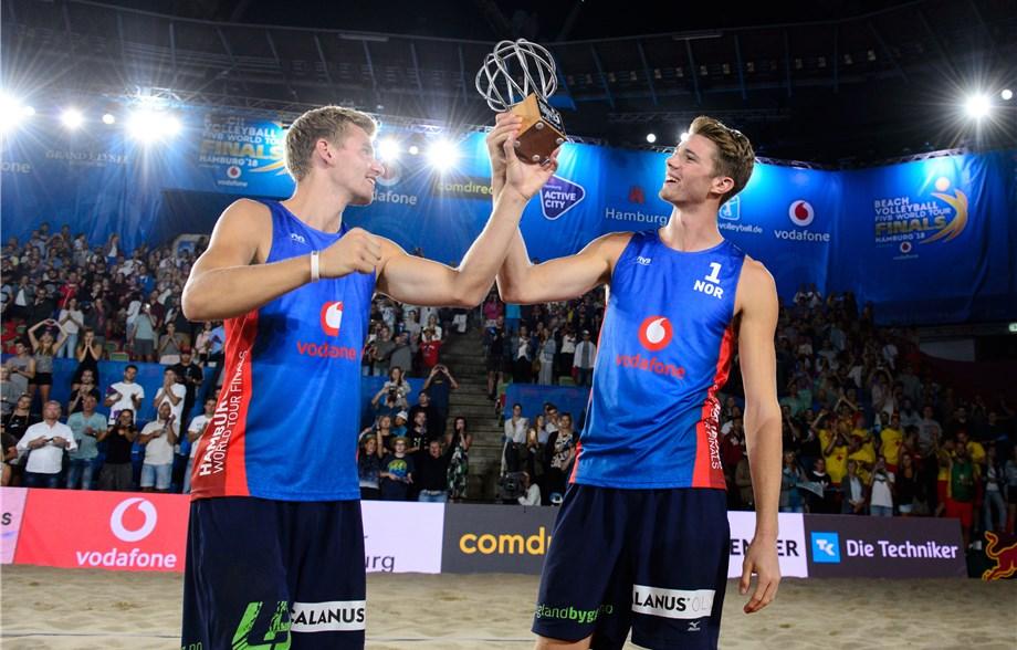 Norway's Anders Mol/Christian Sorum Win #WTFinals Gold