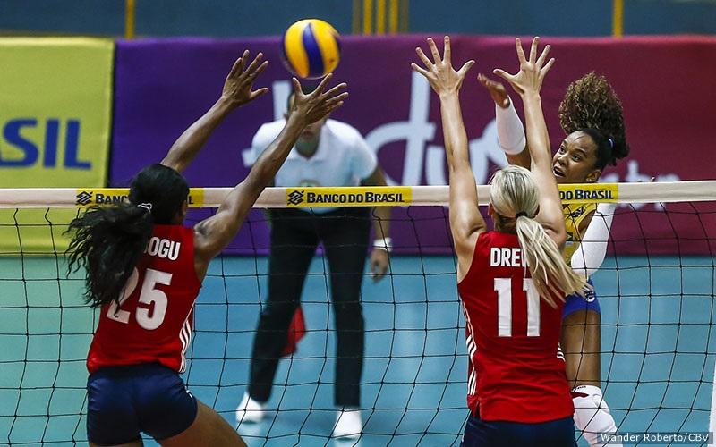 U.S. Women Sweep Brazil in Tuesday Friendly