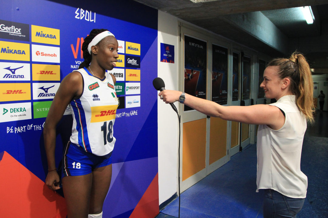 Paola Egonu's 31 Leads Italy Past Turkey at Rabobank Super Series