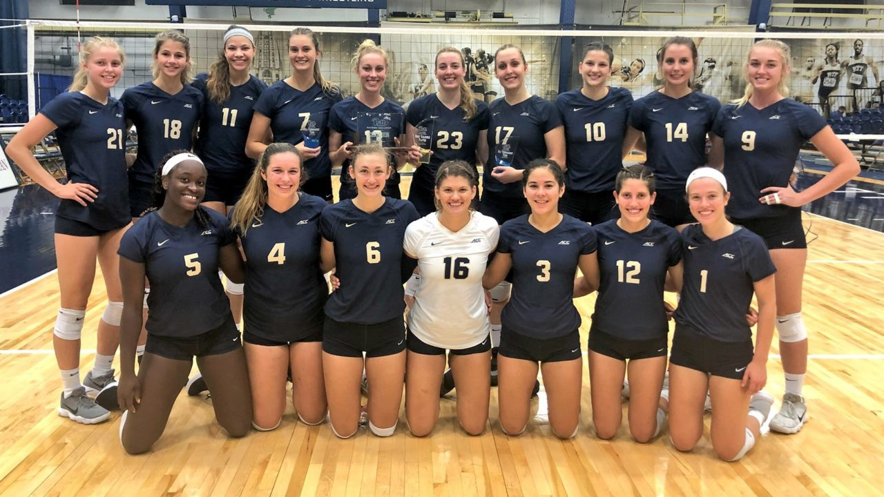 Pitt Sweeps Pepperdine to Go 3-0 en route to Panther Challenge Title