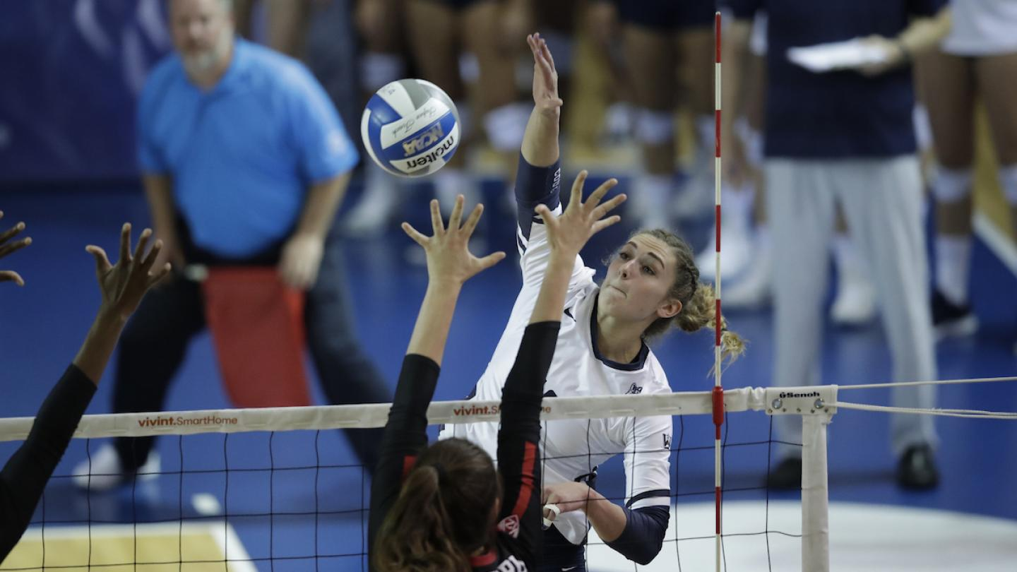 #8 BYU Fends Off Comeback, Upends #1 Stanford in 5; (RV) Wichita State Downs WVU