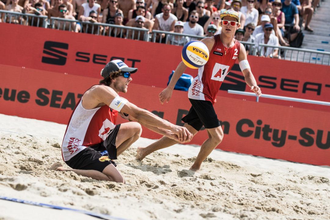 USA's Crabb/Gibb, Austria's Seidl/Wall Lead Vienna Men's Qualifiers