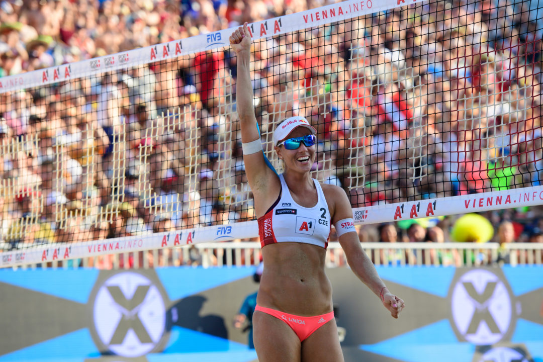 Hermannova/Slukova Take Out Two Brazilian Teams for Vienna Gold