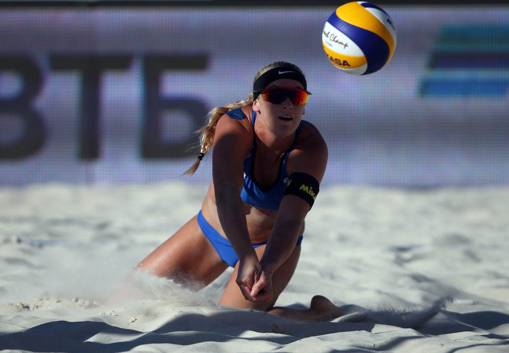 Americans Ross/Hughes Among Elite 10 Women's Pairs at FIVB Tour Finals