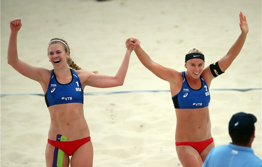 Americans Summer Ross/Sara Hughes Claim First FIVB World Tour Crown