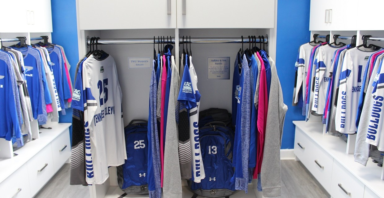 Tennessee Wesleyan Locker Room Reveal: VIDEO