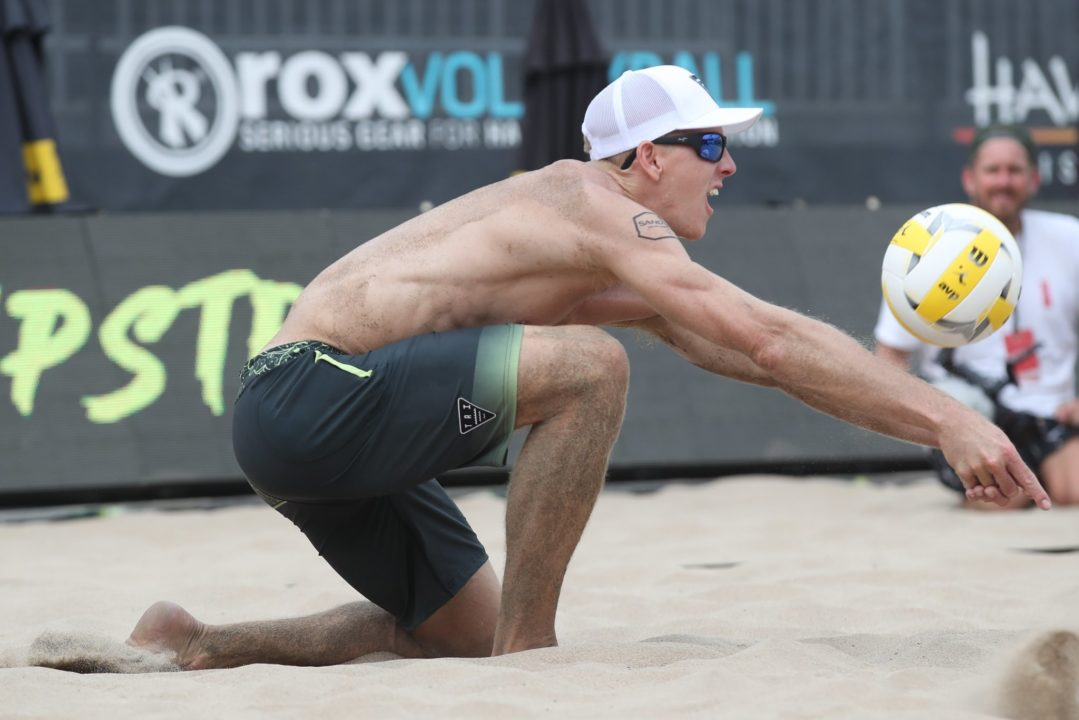 Tri Bourne Makes Return After 18 Months Off at AVP Manhattan Beach