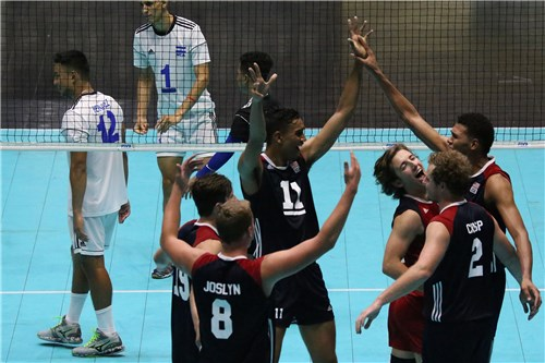 United States and Canada Open With Sweeps at NORCECA U-21
