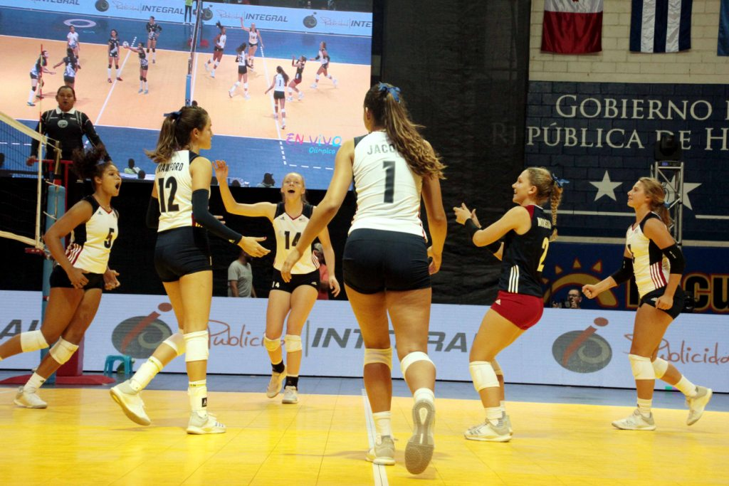 U.S. and Cuba Advance to Semis at NORCECA U-18 Girls' Championships