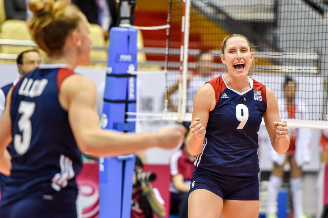 Madi Kingdon Erupts for 23 as USA Women Take 4th-Straight Over Brazil