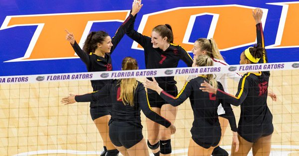 #7 USC Downs #3 Florida to Start Bubly Invite, Louisville Wins 3-0