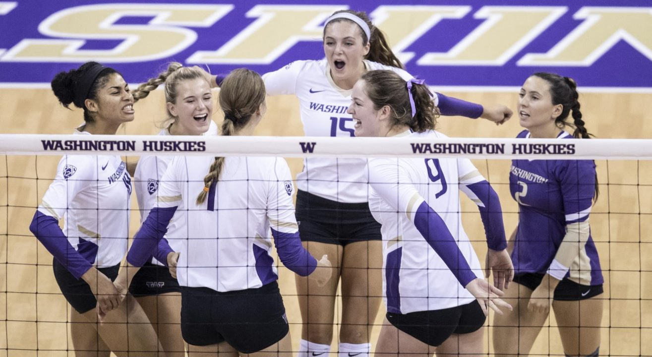 VolleyMob Top 25 Power Rankings (Week 12): Washington Finds Solid Footing